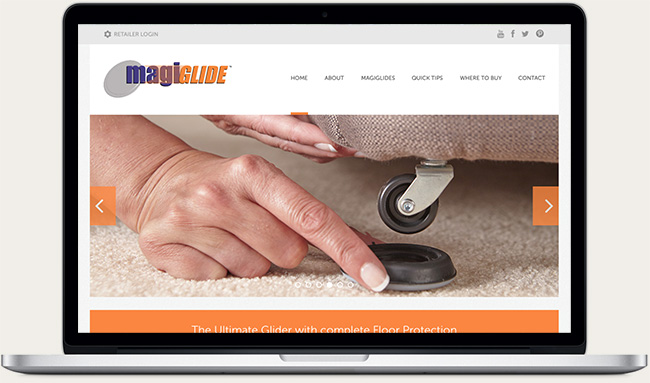 Magiglide Website