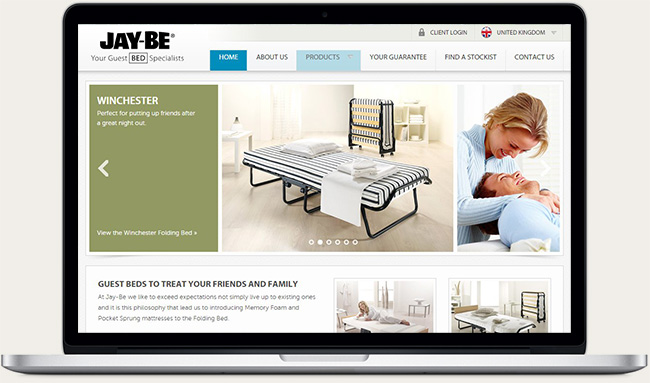 Jay-Be website