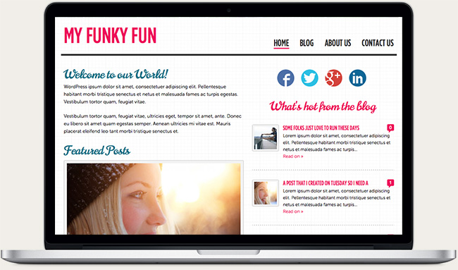 My Funky Fun Website