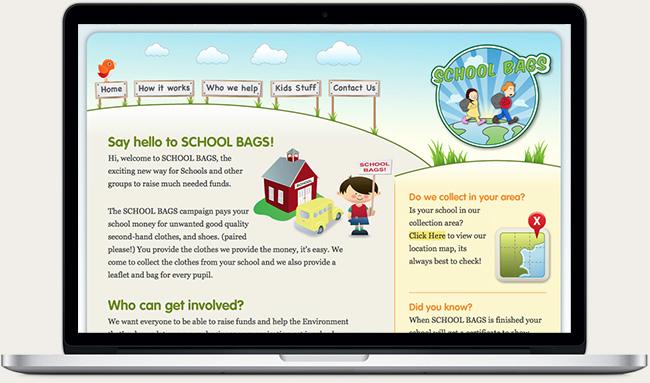 School Bags Website