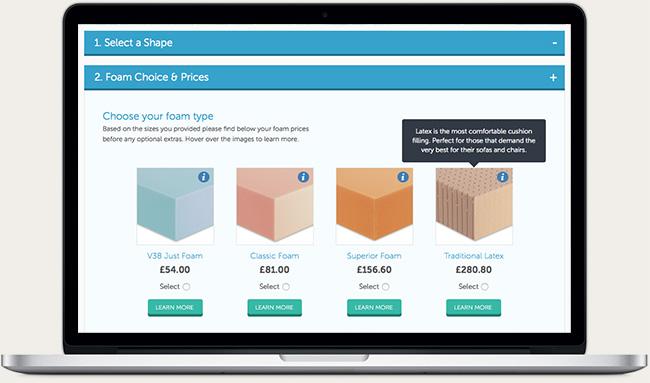 Foam for Comfort Website